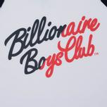 Мужская футболка Billionaire Boys Club Script Logo Raglan White/Navy фото- 2
