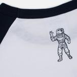 Мужская футболка Billionaire Boys Club Script Logo Raglan White/Navy фото- 4