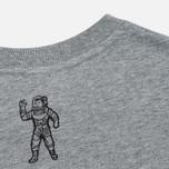 Мужская футболка Billionaire Boys Club Small Arch Logo Heather Grey фото- 2