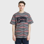 Мужская футболка Billionaire Boys Club Soundwave Arch Logo Grey фото- 1
