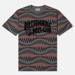 Мужская футболка Billionaire Boys Club Soundwave Arch Logo Grey фото- 0