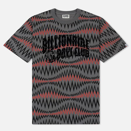 Мужская футболка Billionaire Boys Club Soundwave Arch Logo Grey