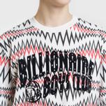 Мужская футболка Billionaire Boys Club Soundwave Arch Logo White Marl фото- 2