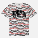 Мужская футболка Billionaire Boys Club Soundwave Arch Logo White Marl фото- 0