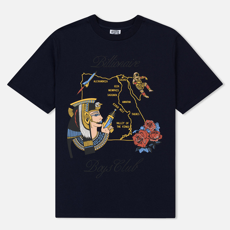 Мужская футболка Billionaire Boys Club Souvenir Map Dress Blue