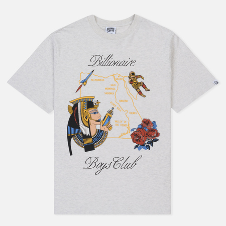 Мужская футболка Billionaire Boys Club Souvenir Map White Marl