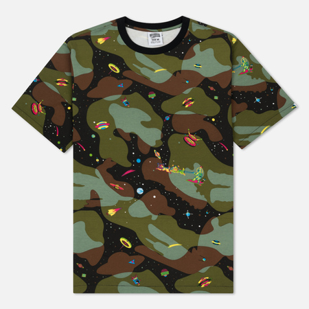 Мужская футболка Billionaire Boys Club Space Camo All Over Print Camouflage
