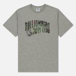 Мужская футболка Billionaire Boys Club Space Camo Arch Logo Heather Grey фото- 0