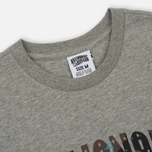 Мужская футболка Billionaire Boys Club Space Camo Arch Logo Heather Grey фото- 1
