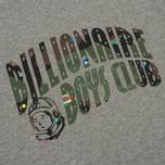Мужская футболка Billionaire Boys Club Space Camo Arch Logo Heather Grey фото- 2
