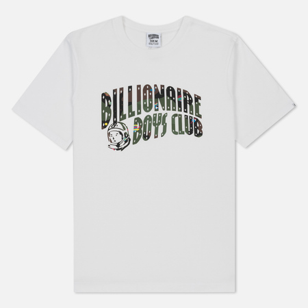 Мужская футболка Billionaire Boys Club Space Camo Arch Logo White
