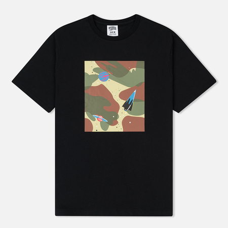 Мужская футболка Billionaire Boys Club Space Camo Tile Black