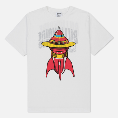 Мужская футболка Billionaire Boys Club Space Ship Reversible Print White