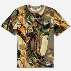 Мужская футболка Billionaire Boys Club Tree Camo All Over Print Beige