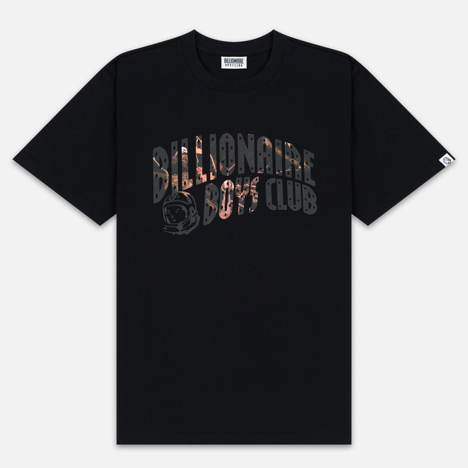 Мужская футболка Billionaire Boys Club Tree Camo Arch Logo Black