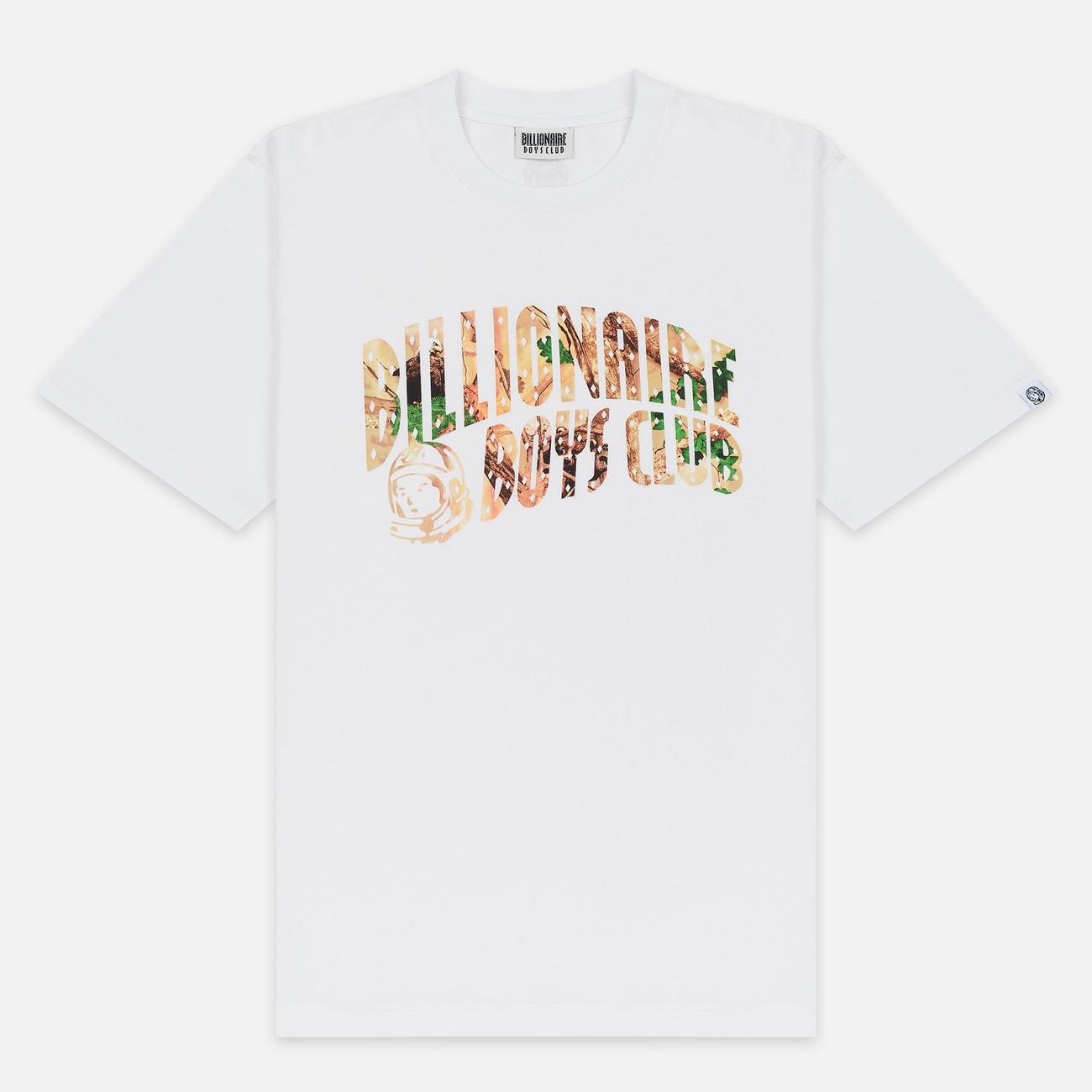 Мужская футболка Billionaire Boys Club Tree Camo Arch Logo White