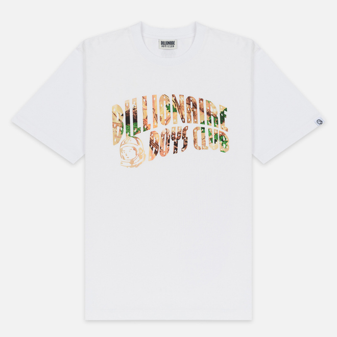 Мужская футболка Billionaire Boys Club Tree Camo Arch Logo White