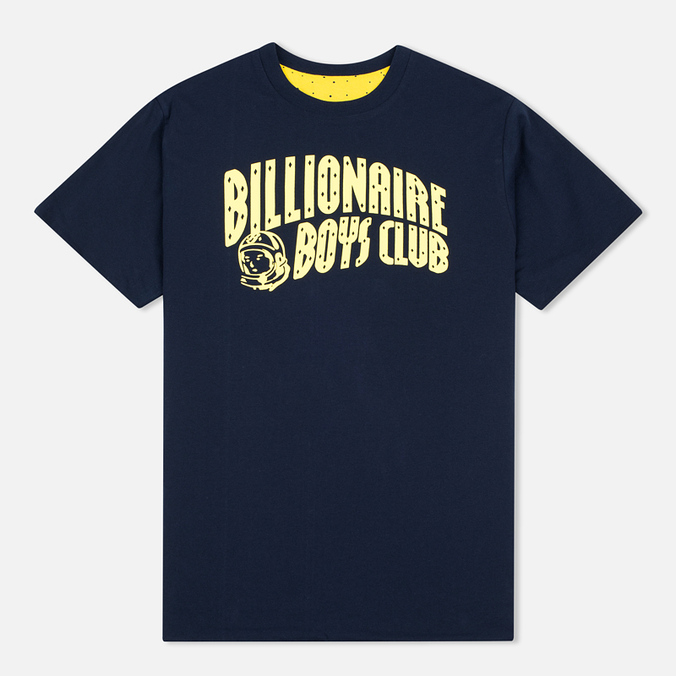 Мужская футболка Billionaire Boys Club Vacation Reversible Navy/Yellow