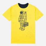 Мужская футболка Billionaire Boys Club Vacation Reversible Navy/Yellow фото- 3