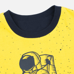 Мужская футболка Billionaire Boys Club Vacation Reversible Navy/Yellow фото- 4