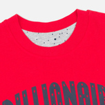 Мужская футболка Billionaire Boys Club Vacation Reversible Red/Heather Grey фото- 1