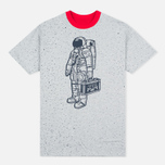 Мужская футболка Billionaire Boys Club Vacation Reversible Red/Heather Grey фото- 3