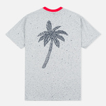 Мужская футболка Billionaire Boys Club Vacation Reversible Red/Heather Grey фото- 4
