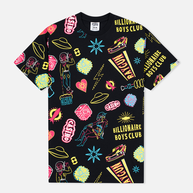 Мужская футболка Billionaire Boys Club Vegas Icons AO Black