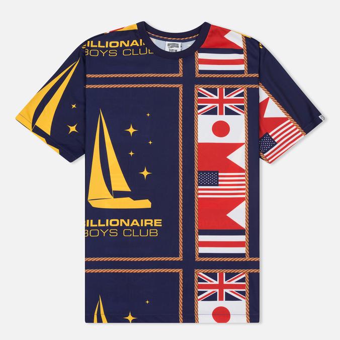 Мужская футболка Billionaire Boys Club Yachting All Over Print Navy