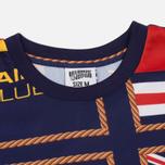 Мужская футболка Billionaire Boys Club Yachting All Over Print Navy фото- 1