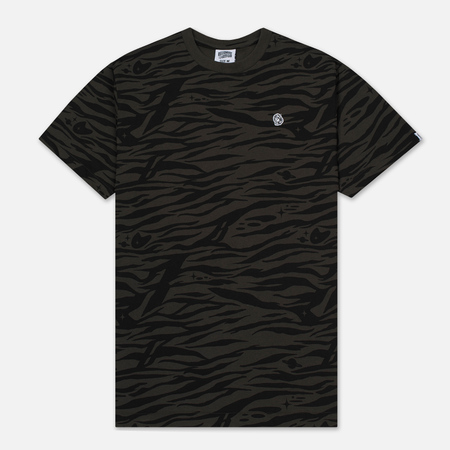 Мужская футболка Billionaire Boys Club Zebra Camo All-Over Print Charcoal