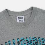 Мужская футболка Billionaire Boys Club Zebra Camo Arch Logo SS Heather Grey фото- 1
