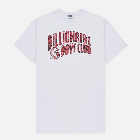 Мужская футболка Billionaire Boys Club Zebra Camo Arch Logo SS White
