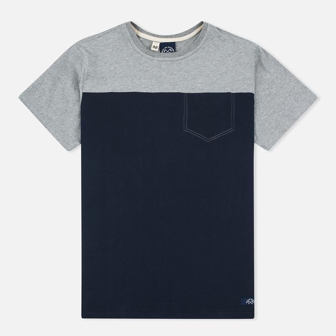 Мужская футболка Bleu De Paname 1 Poche Jersey Marine
