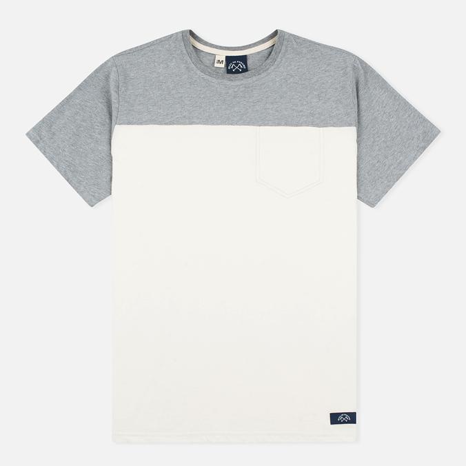 Мужская футболка Bleu De Paname 1 Poche Jersey Ecru