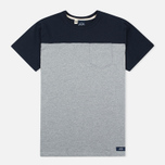 Мужская футболка Bleu De Paname 1 Poche Jersey Zinc фото- 0