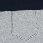 Мужская футболка Bleu De Paname 1 Poche Jersey Zinc фото- 2
