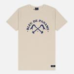 Мужская футболка Bleu De Paname Logo BDP Ecru фото- 0