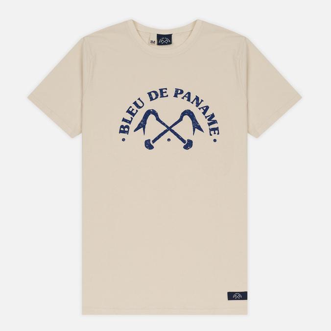 Мужская футболка Bleu De Paname Logo BDP Ecru