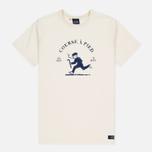 Мужская футболка Bleu De Paname Running Ecru фото- 0
