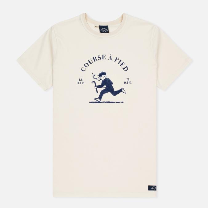 Мужская футболка Bleu De Paname Running Ecru