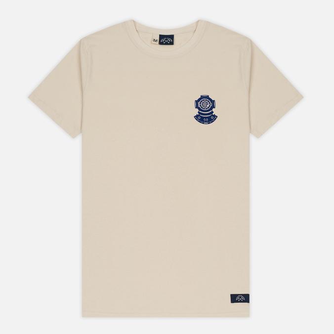 Мужская футболка Bleu De Paname Scaphandre Ecru