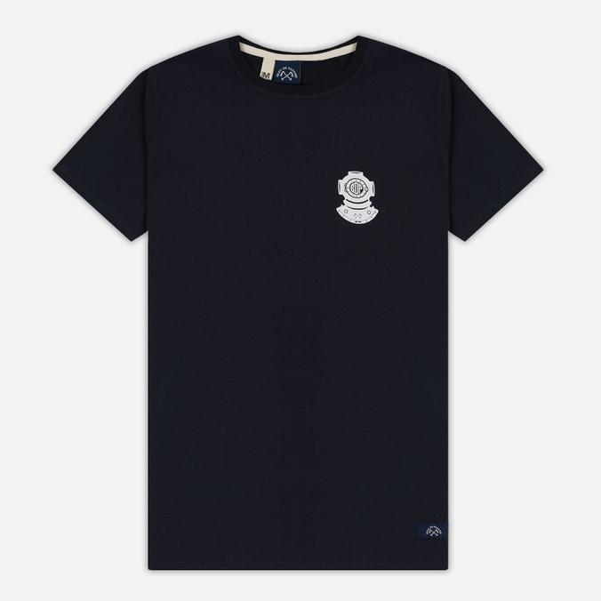 Мужская футболка Bleu De Paname Scaphandre Marine