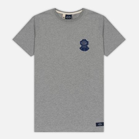 Мужская футболка Bleu De Paname Scaphandre Zinc