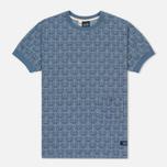 Мужская футболка Bleu De Paname Travail Blue Charrette фото- 0