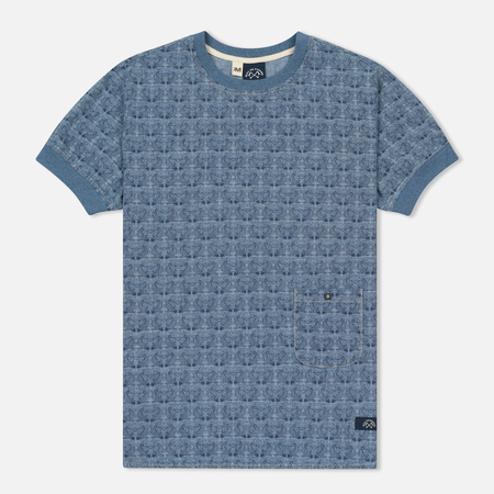 Мужская футболка Bleu De Paname Travail Blue Charrette