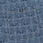 Мужская футболка Bleu De Paname Travail Blue Charrette фото- 2