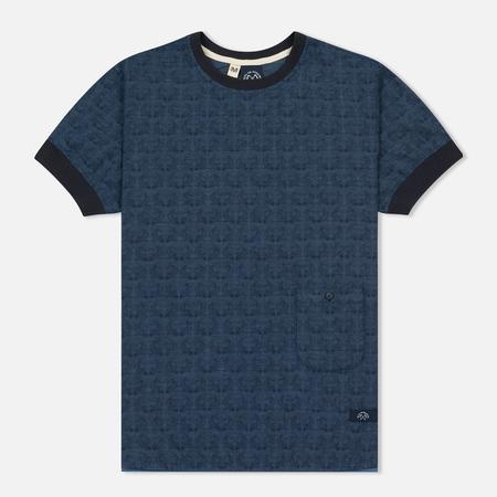Мужская футболка Bleu De Paname Travail Blue Paname