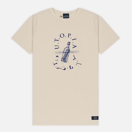 Мужская футболка Bleu De Paname Utopia Moll Ecru