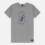 Мужская футболка Bleu De Paname Utopia Moll Zinc фото- 0